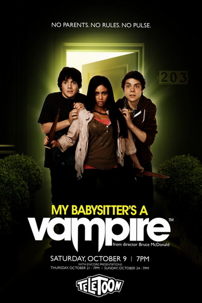 Моя няня – вампир (2010)   My Babysitter's a Vampire